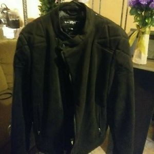 Men wilson leather bomber jacket